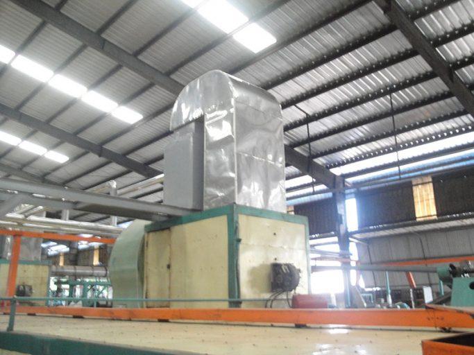 Sản xuất chế tạo hệ thống sấy mủ cao su